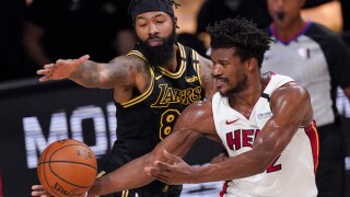 Heat force Game 6, top Lakers to stave off elimination
