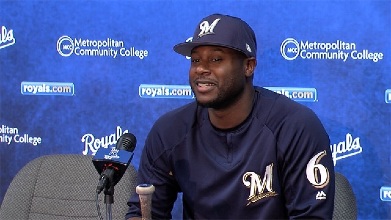 Former Royal Lorenzo Cain returns to Kansas City