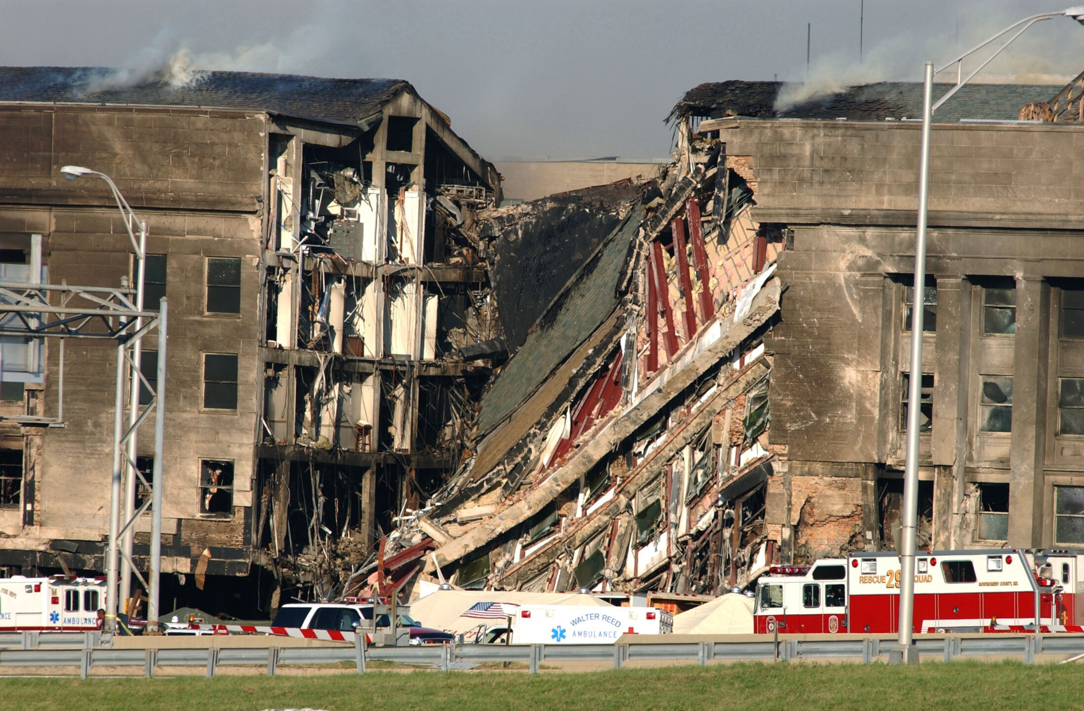 Hijacked Plane Slams Into Pentagon in Terror Attack