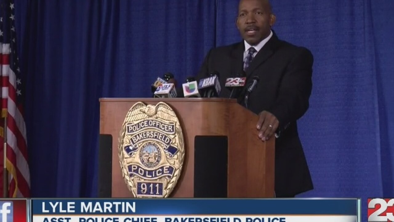 BPD holds conference on SW Bakersfield shooting