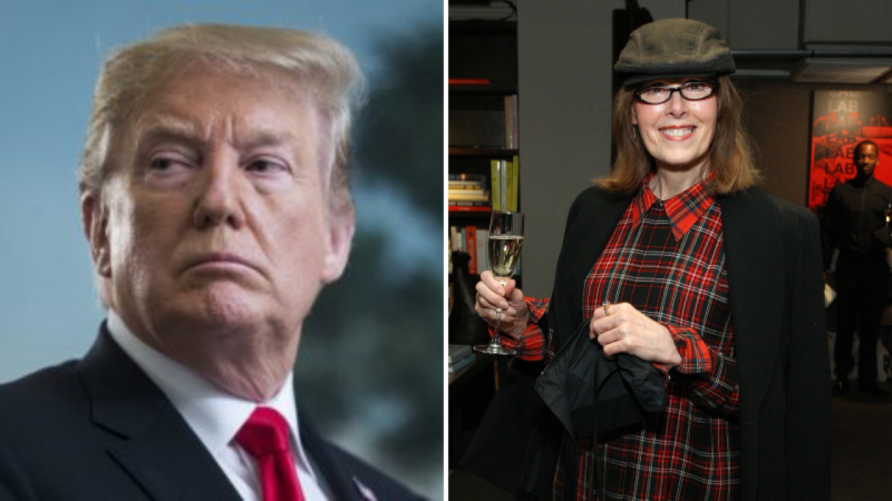 Writer claims Trump sexually assaulted her in New York City dressing room in the 1990s