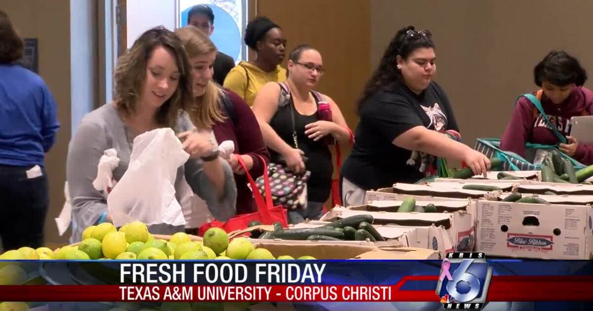 So fresh and so clean: A&M CC students enjoy clean eating and fresh produce