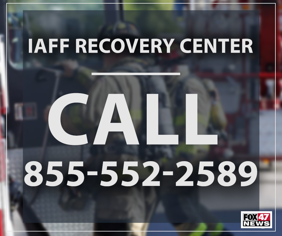 IAFF Recovery Center: Call for help