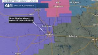 Winter Weather Advisory Tuesday