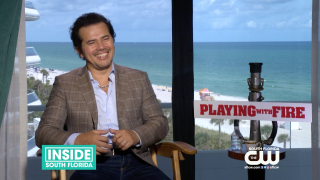 "John Leguizamo Comes to Miami to Talk About New Film ""Playing with Fire"""