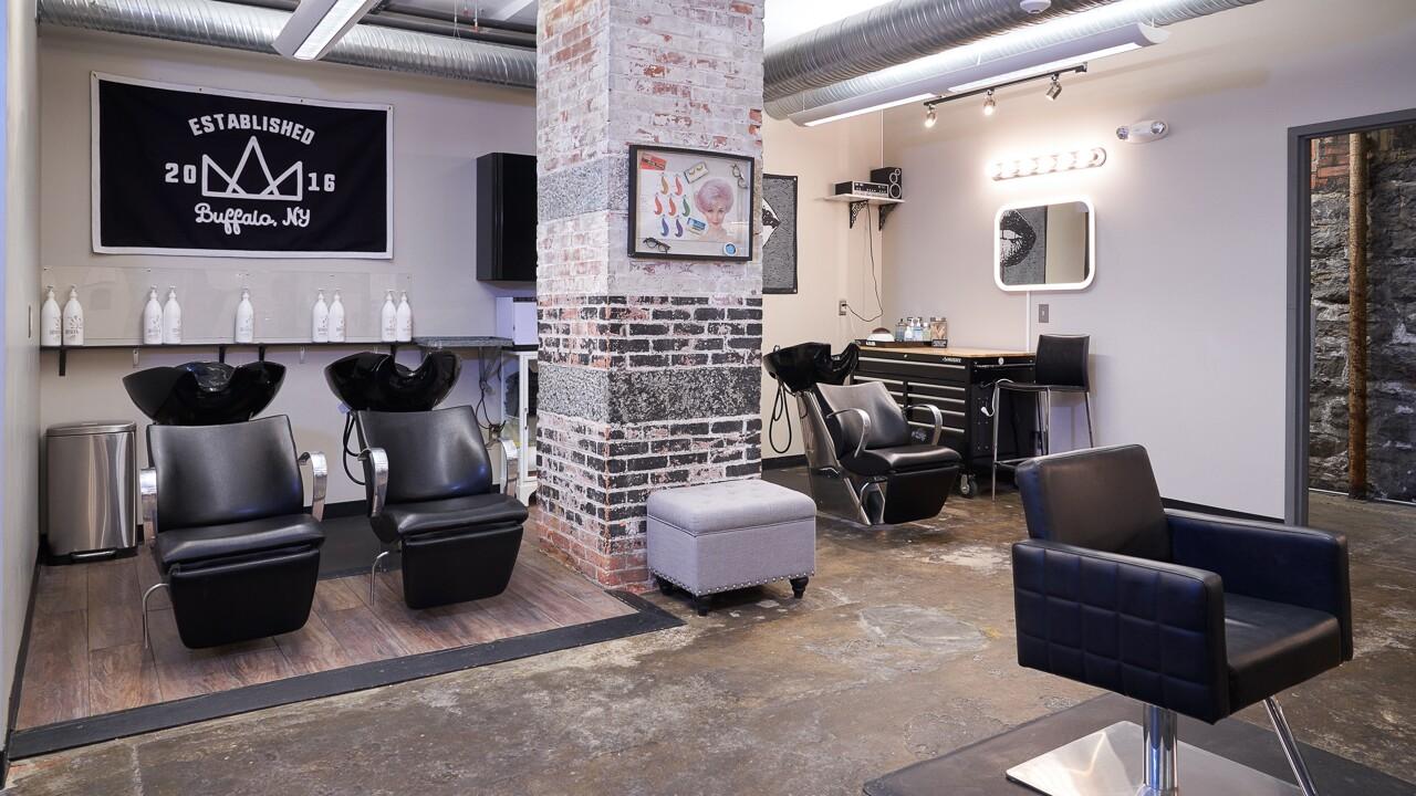 Crown Salon Interior Images