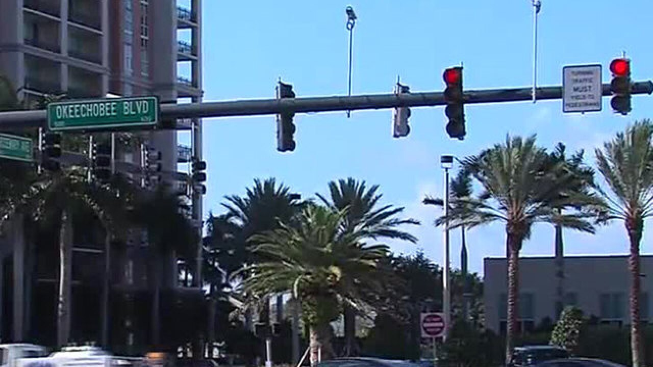 Traffic woes in downtown West Palm Beach discussed