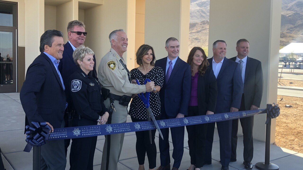 First building of new LVMPD training facility unveiled on 1 October anniversary