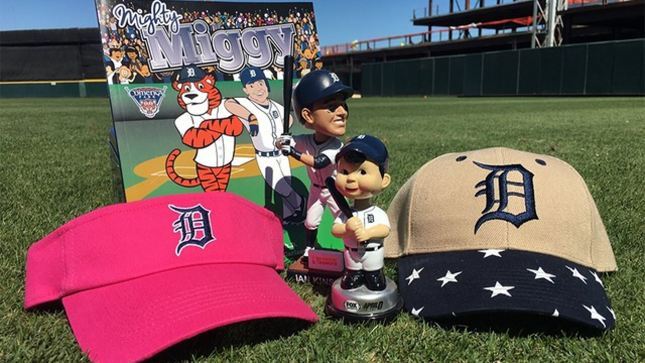 Detroit Tigers announce 2016 promo schedule