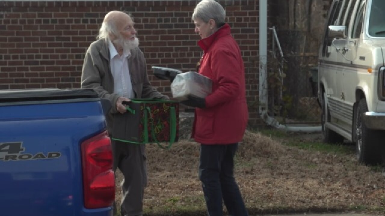 Program aims to help lonely seniors, while delivering food to them