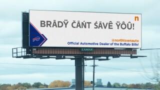 Northtown Auto Billboard