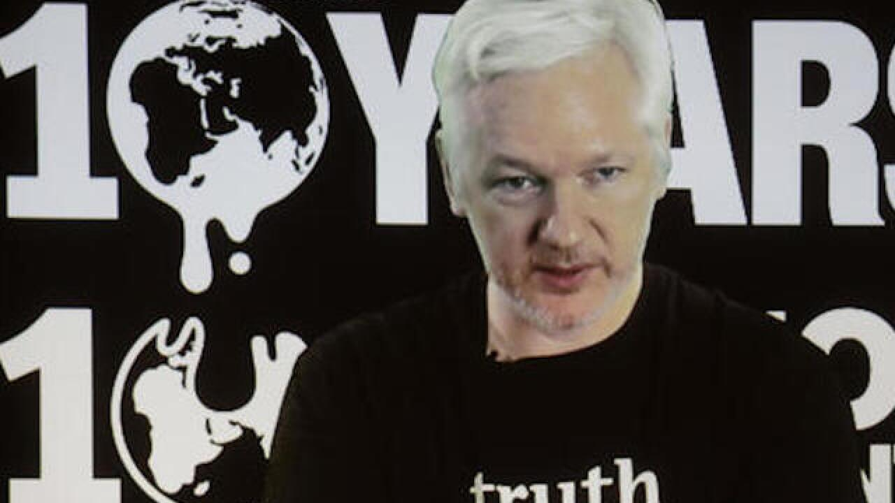 WikiLeaks' Assange promises leaks before election