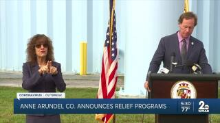 Anne Arundel County announces COVID-19 relief programs