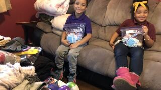 Newport News siblings look for donations to help the homelesscommunity