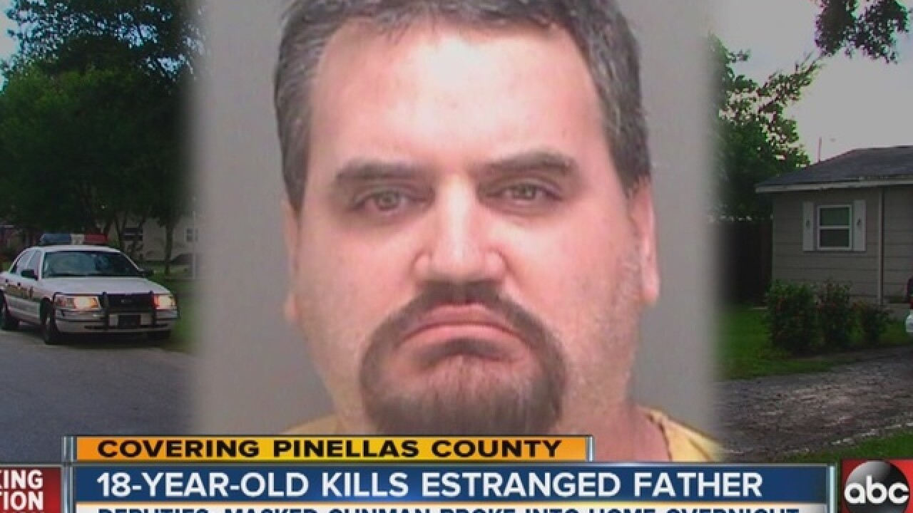 Teen kills intruder, discovers it's his father