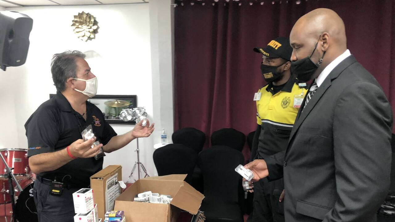 Over the next three days, Luis Garcia is hosting 10 education and NARCAN distribution events that are free to the public in Boca Raton, Lake Worth Beach, Okeechobee and in West Palm Beach.