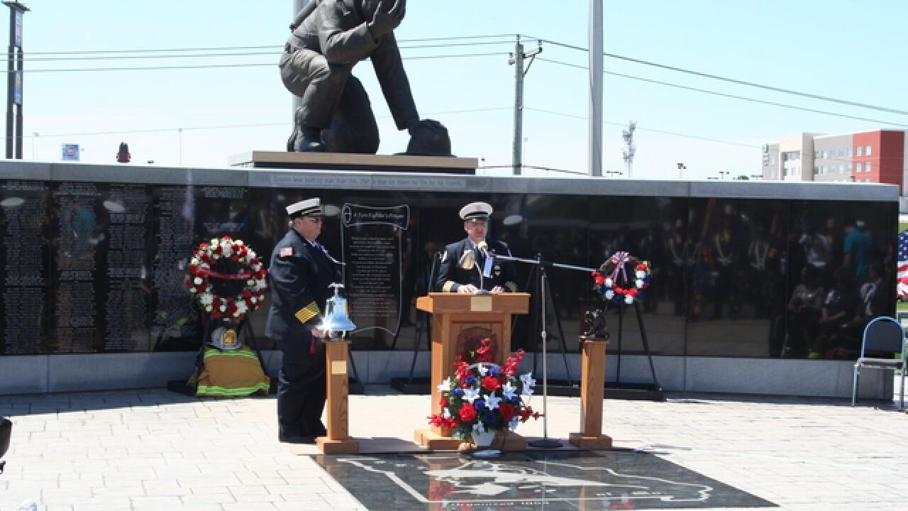 PHOTOS: Missouri remembers fallen firefighters