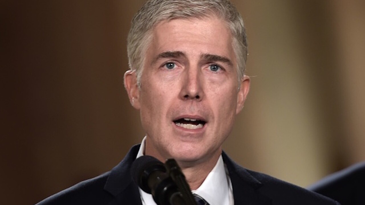 Gorsuch nomination met with positive reception
