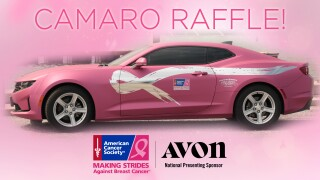 Making Strides Against Breast Cancer: Camaro Raffle