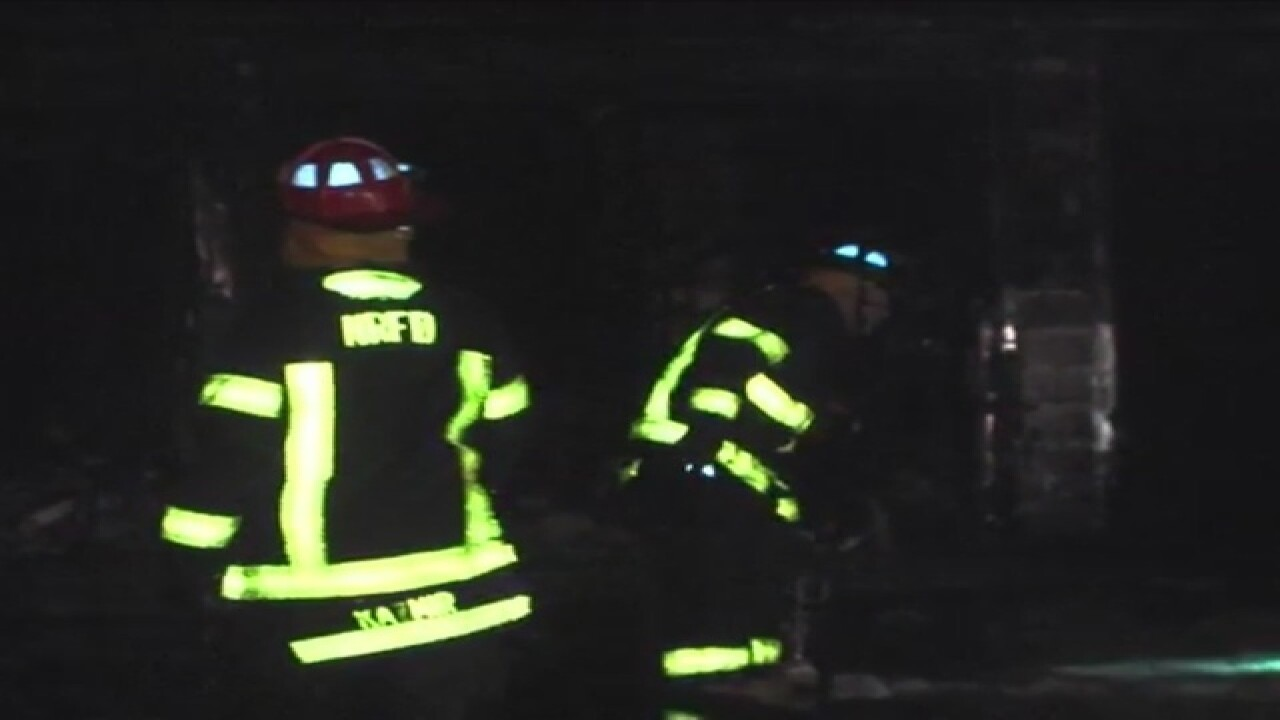 Family of 4 escapes North Royalton house fire