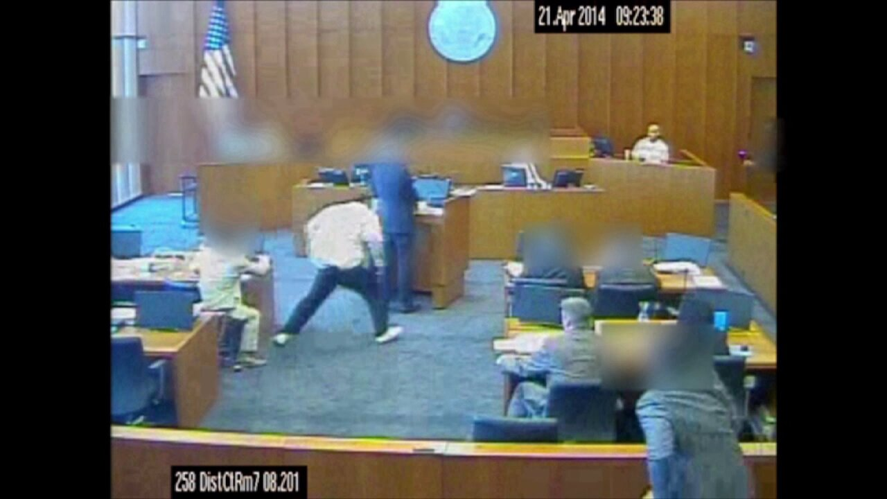 Video released of fatal courtroom shooting in Salt Lake City (Warning: GraphicContent)