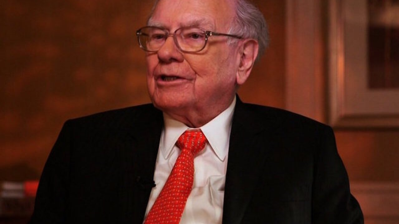 Warren Buffett: Red-hot market not in a bubble, still looks 'cheap'