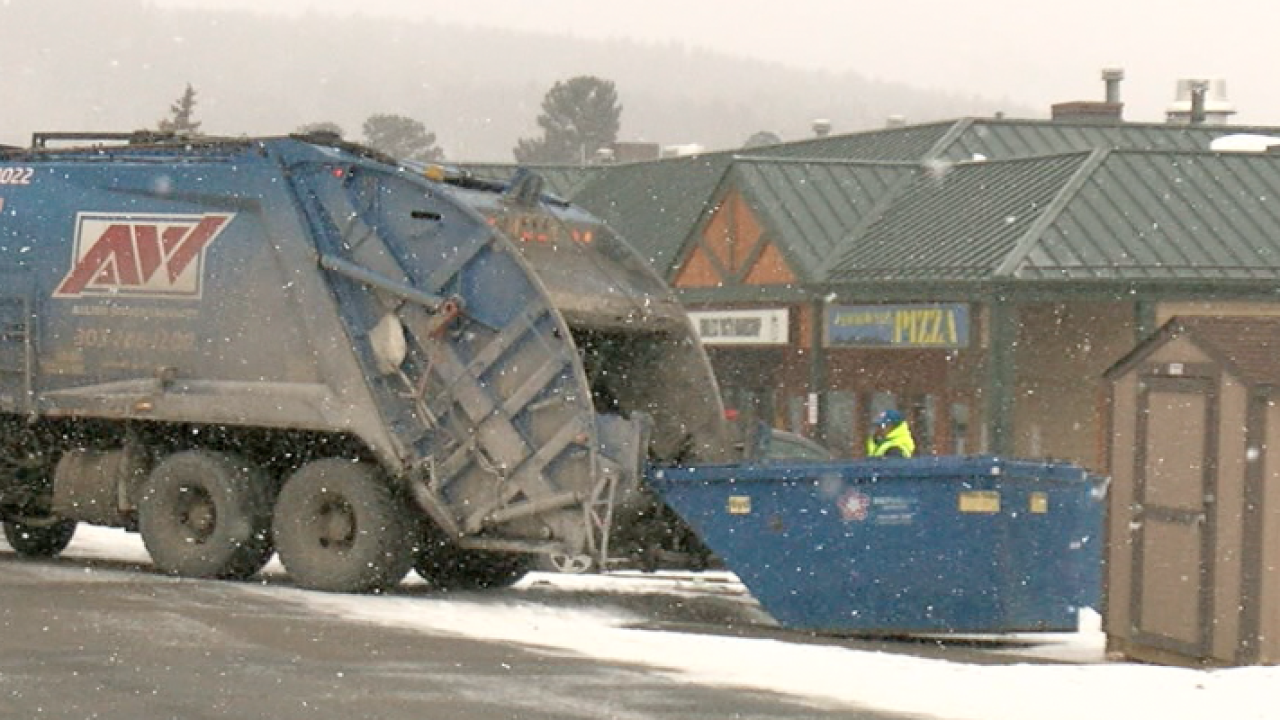 First Trash Pickup After Snow >> Contact7 Gets Results After Nederland Goes Weeks Without Trash Pickup