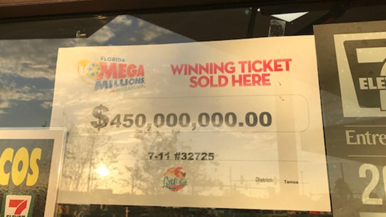 20YO Port Richey man claims MEGA MILLIONS prize
