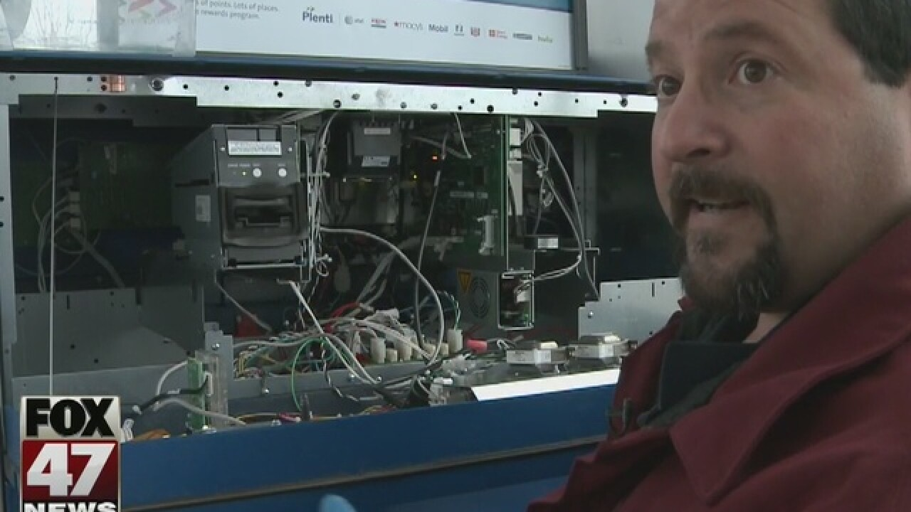 Credit card skimmer found at Howell gas station