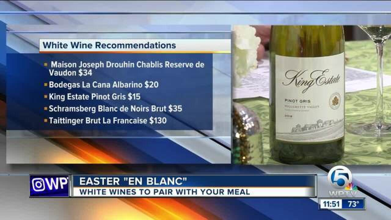 Wine tips for your Easter feast