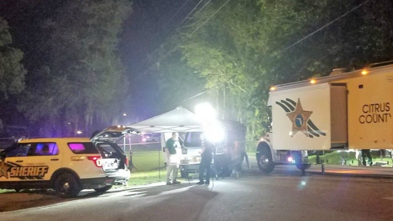 Man dead after deputy-involved shooting in Citrus County