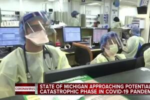 Metro Detroit hospital systems running low on masks, gowns and face shields