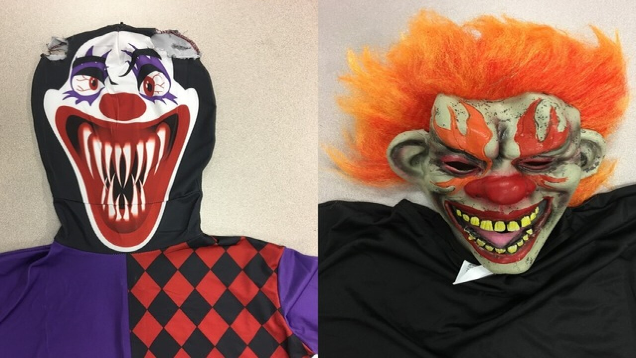 2 women clowns arraigned for chasing girls