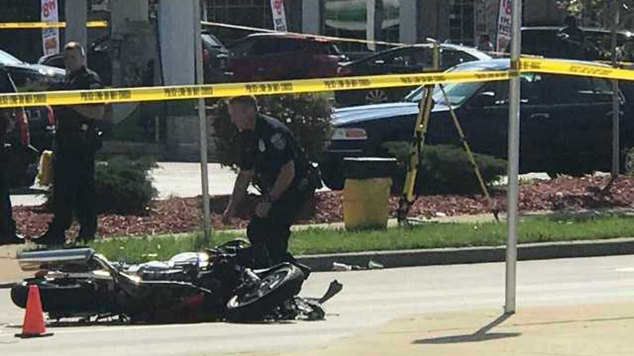 Motorcyclist killed in north side Milwaukee crash Thursday