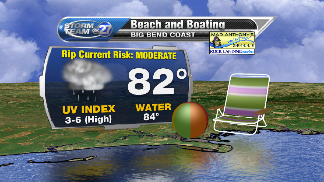 Beach and Boating forecast (08/04/2017) B