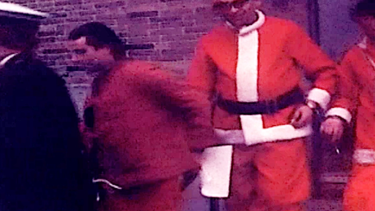 From The Vault: Downtown Santas land in jail