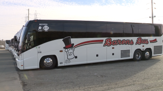 Barons Bus company shares pandemic struggles, installs UV far lighting to buses for safety