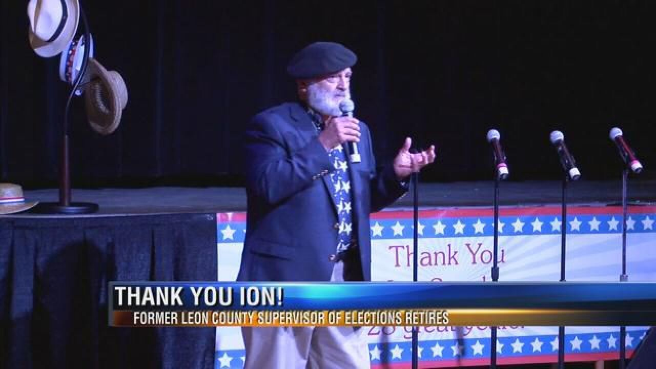 Leon County Supervisor of Elections Celebrated for 28 Years of Service