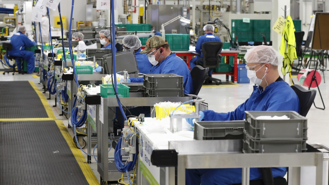 Autoworker at Detroit plant tests positive for COVID-19 days before car production set to resume