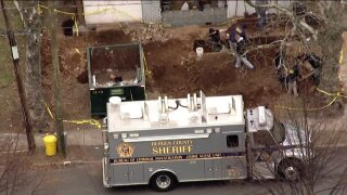 possible human remains found: Teaneck poli