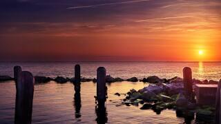 Coastal Bend sunset
