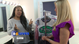 Nikki-Dee and Puritan Cleaners surprises 'Dress for Success' with 150 dresses