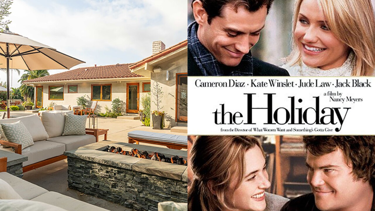 You could win a vacation inspired by the movie 'The Holiday'