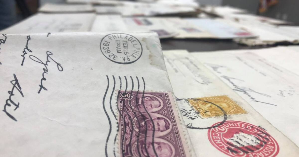 Decades-old letters found in a suitcase in a stolen car to be returned to family descendants