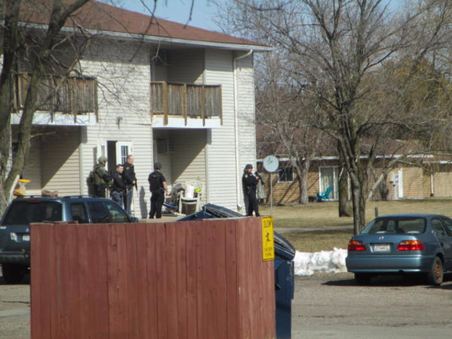 Scene photos from Wausau-area shooting rampage