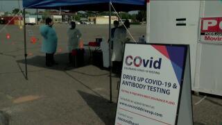 COVID-19 testing center