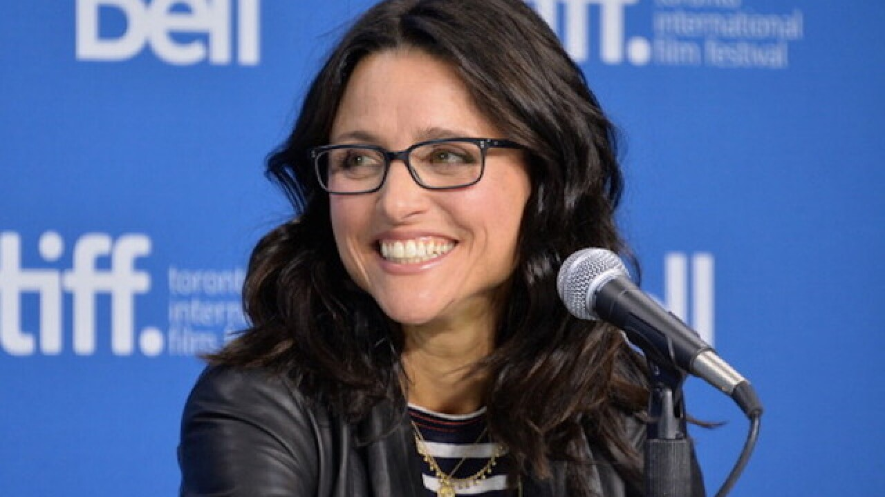 Julia Louis-Dreyfus' sons celebrate her last day of chemo with music video