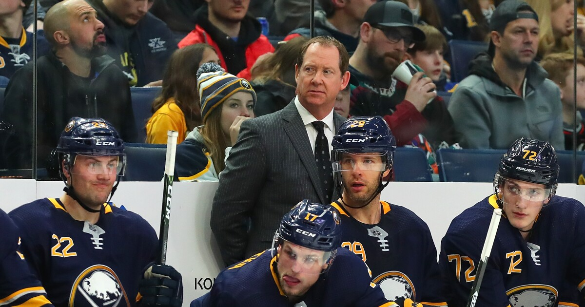 Sabres: Phil Housley relieved of his duties