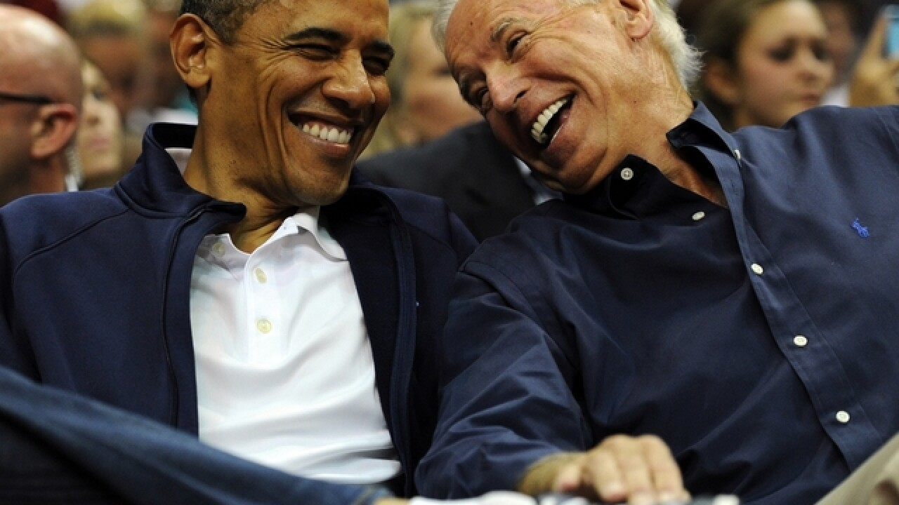 There was an Obama-Biden reunion at a DC bakery