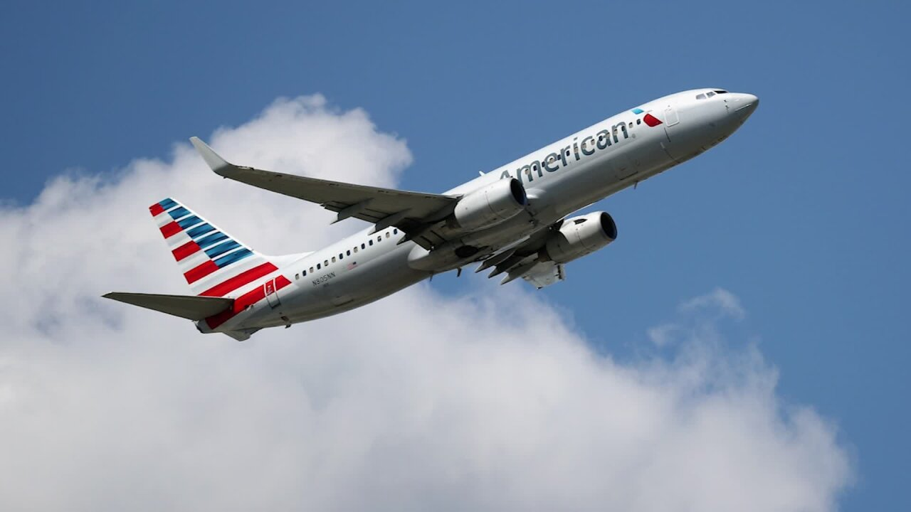 American Airlines flight forced to land because of unruly passenger, who yelled 'you're all screwed'